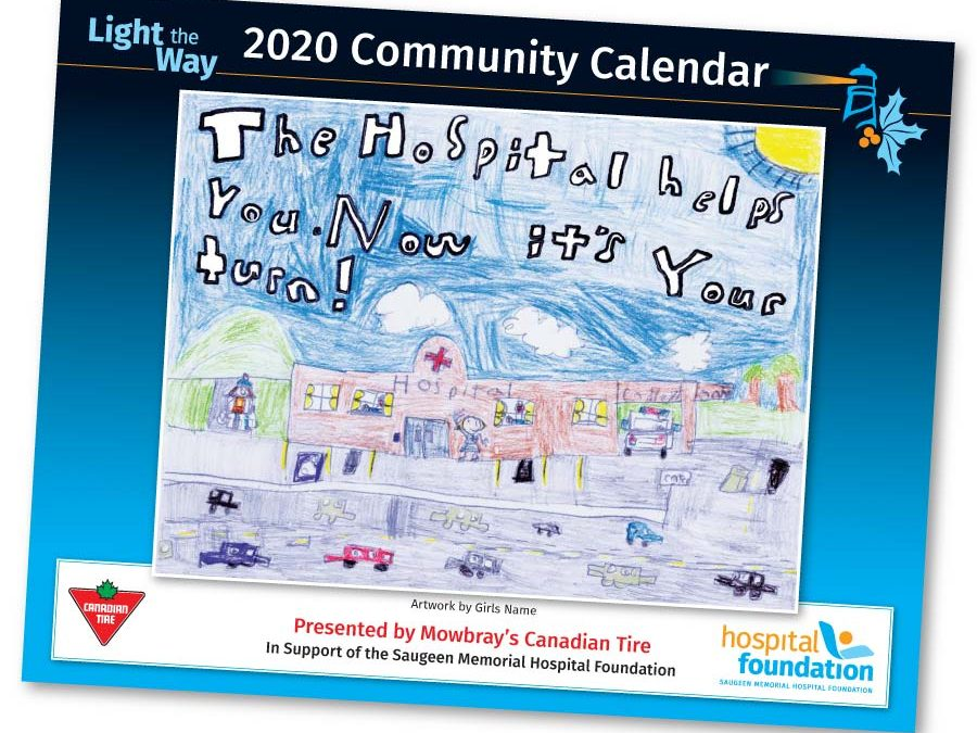 Light the Way Community Calendar Presented by Mowbray's Canadian Tire