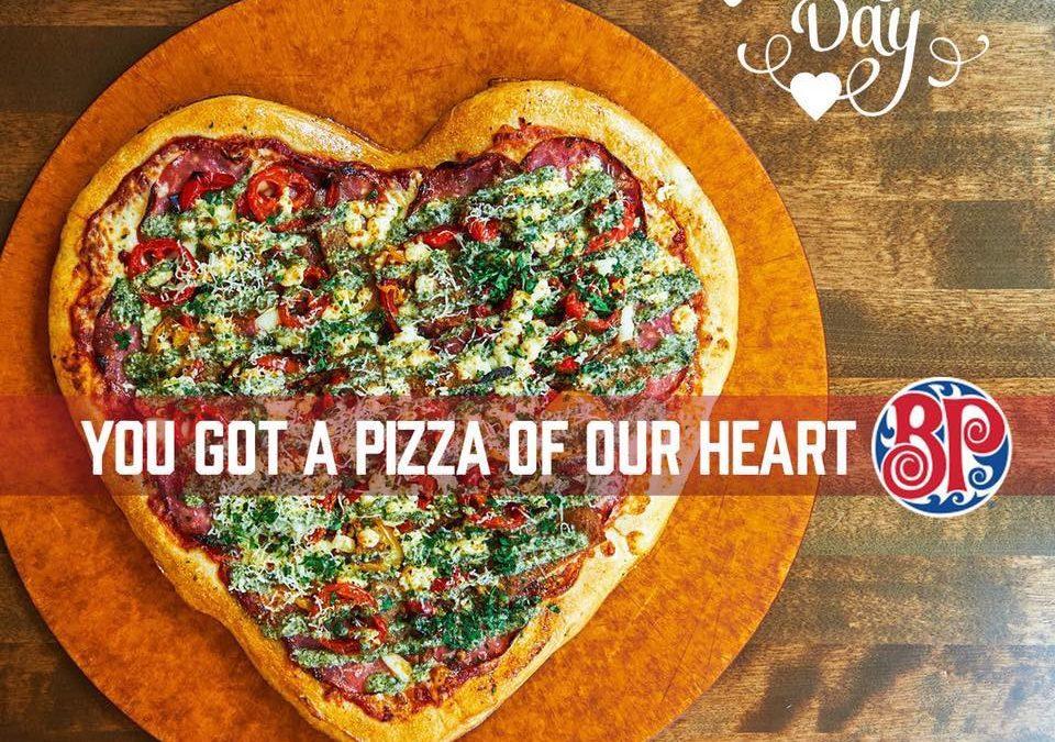 Boston Pizza has heart!